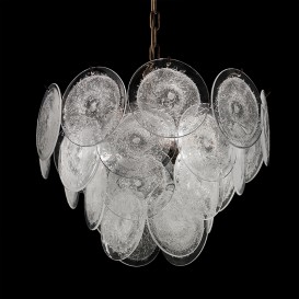 Dishes - Murano glass chandelier