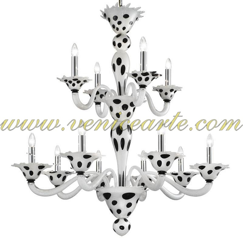 Arlno Murano Glass Chandelier