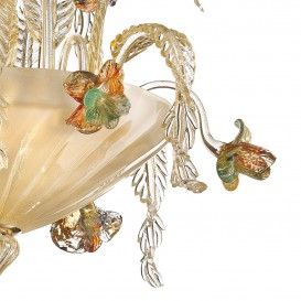 Lugano - Murano glass chandelier