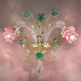 Elisa - Murano glass wall sconce