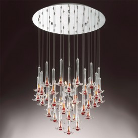 Giglio - Murano glass chandelier