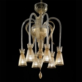 Flipper - Murano glass chandelier