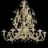 Doha - Murano glass chandelier