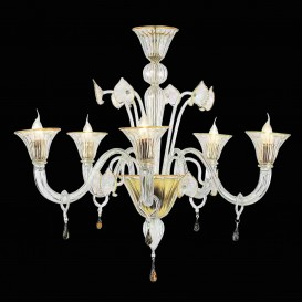 Atrium - Murano glass chandelier