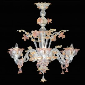 Dolfin - Murano glass chandelier