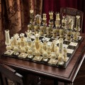 Chess in Murano glass