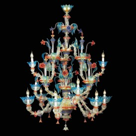 Leonardo - Murano glass chandelier