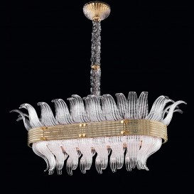 Déco - Murano glass chandelier
