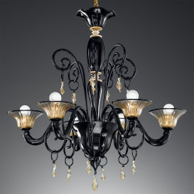 Apollo - Murano glass chandelier