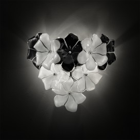 Lotus - Murano glass wall sconce