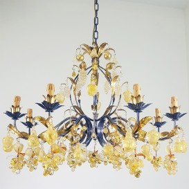 Uva oro - Murano glass chandelier