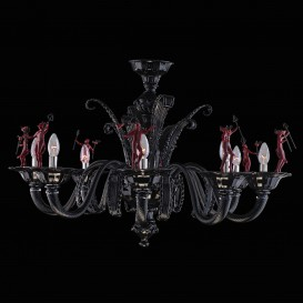Diavoletti - Murano glass chandeliers
