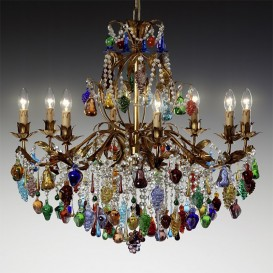 Amelia - Murano glass chandelier