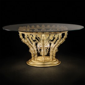 Trionfo - Table en verre de Murano