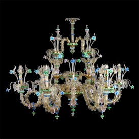 Fedra - Murano glass chandelier