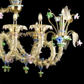 Antiope - Murano glass chandelier