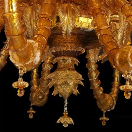 Segesta - Murano glass chandelier Detail