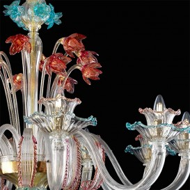 Pompei - Murano glass chandelier