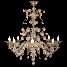 Antioco - Murano glass chandelier