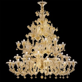 Louis XIV - Murano glass chandelier