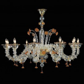 Perseus - Murano glass chandelier