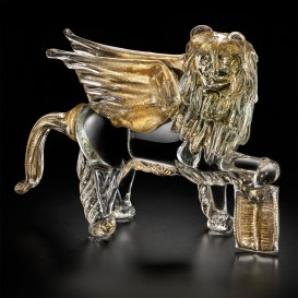 Lion in Murano glass