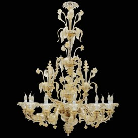 Ca' Pesaro - Murano glass chandelier 12 lights