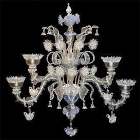 Classic Rezzonico - Murano glass wall sconce 4 lights