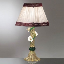 Lampe de table en verre de Murano 812
