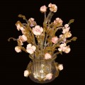 Murano Table lamp-vase Roses