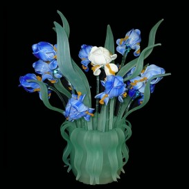 Murano Table lamp-vase Iris
