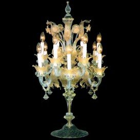 Murano glass Flambeaux San Erasmo 12 lights