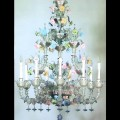 Rubini - Murano glass chandelier