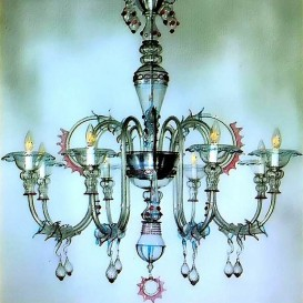 San Tomà - Murano glass chandelier