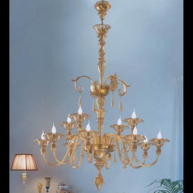 Venezia - Murano glass chandelier