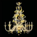 Ludwig - Murano glass chandelier
