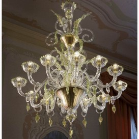 Siena - Murano glass chandelier
