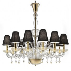 Daphne - Murano glass chandelier