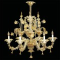 Acropolis - Murano glass chandelier 6 lights